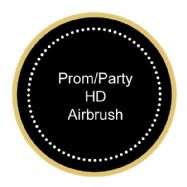 Prom or Party High Definition Airbrush Package